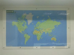 Wall Map – World