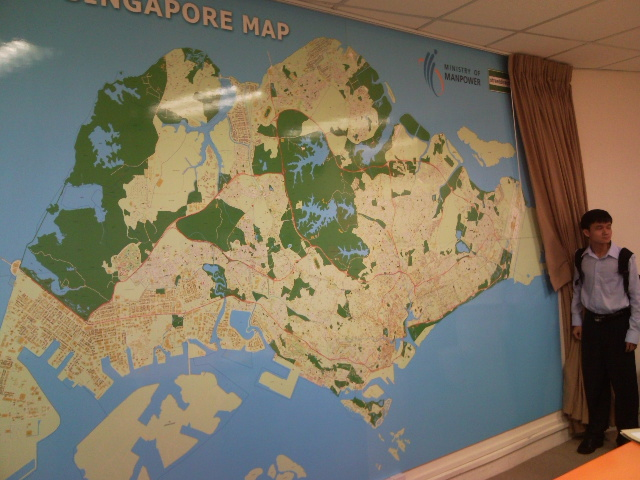 Ministry Of Manpower Where To Buy Maps Singapore Wall Maps - Where can i buy a wall map