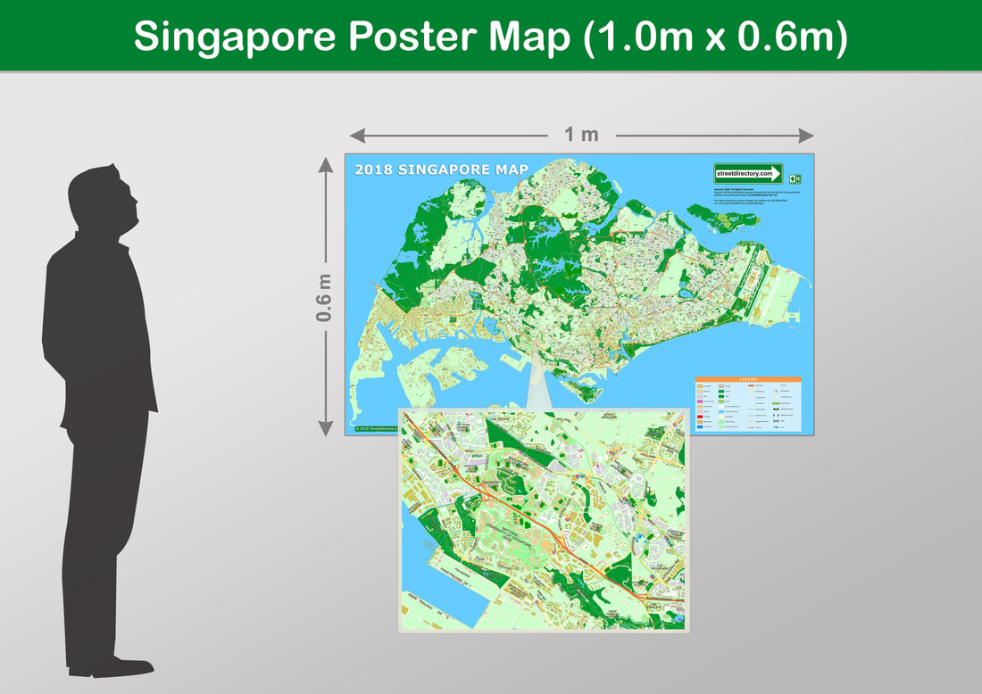 Where to buy maps singapore wall maps best singapore wall maps picture gumiabroncs Gallery